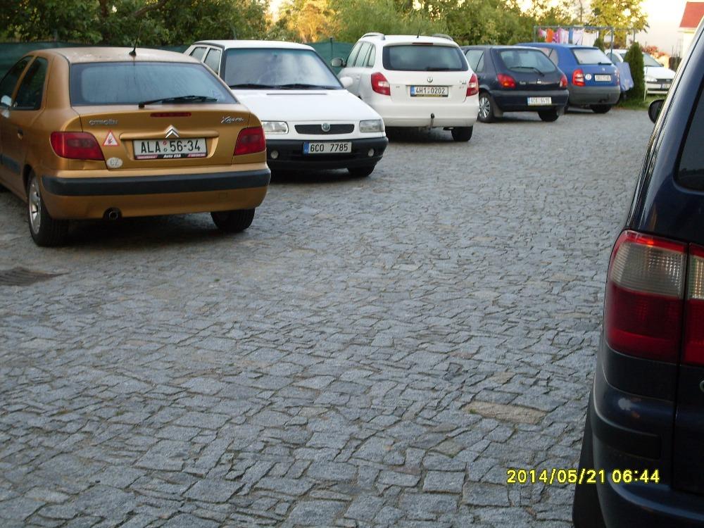 Parkoviště v objektu